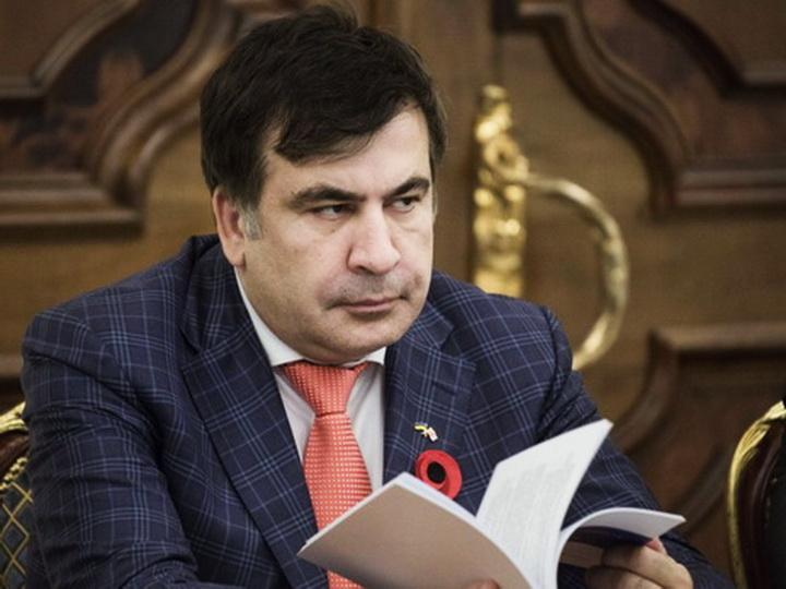Саакашвили получил штраф за прорыв украинской границы