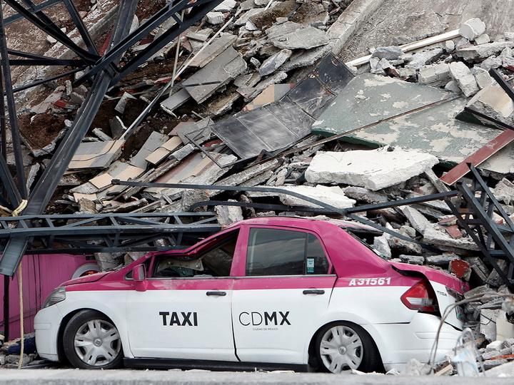 Землетрясение магнитудой 6,2 произошло в Мексике