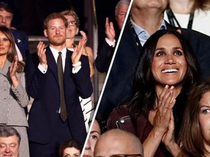 Меган Маркл впервые появилась на публике в обществе принца Гарри