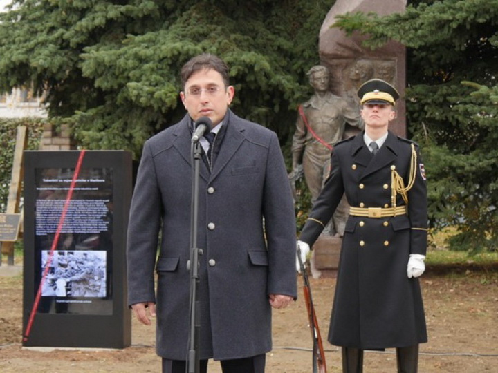 В Словении открылся памятник Мехти Гусейнзаде – ФОТО