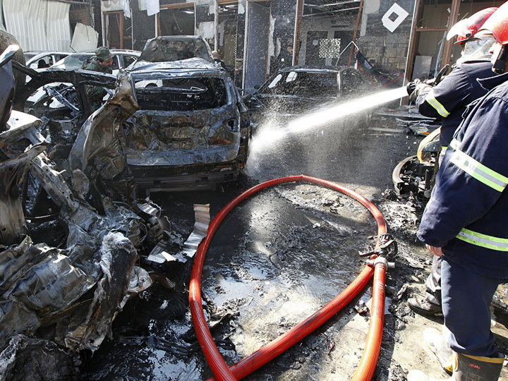 Жертвами атаки террористов-смертников в Багдаде стали 17 человек — ОБНОВЛЕНО