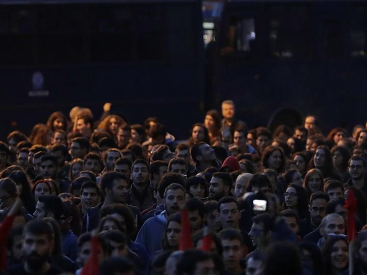 В Афинах за участие в беспорядках арестовали граждан шести стран
