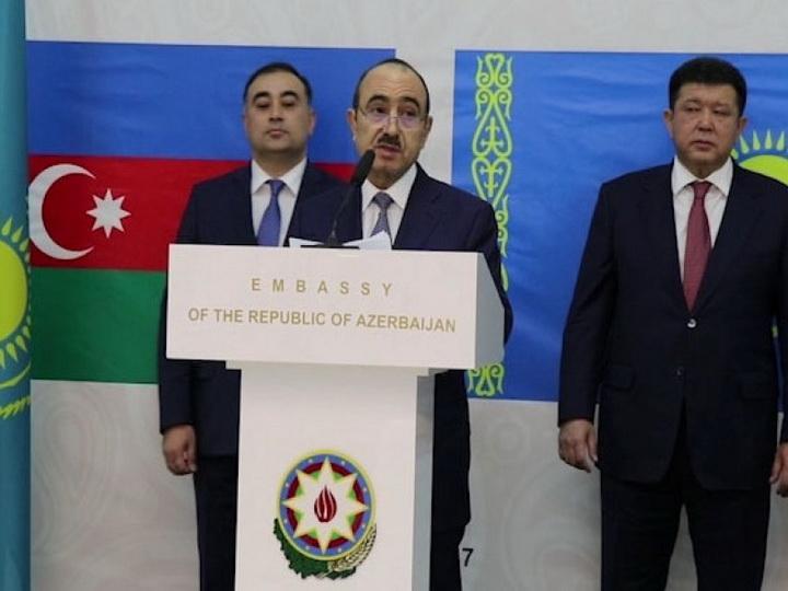 В Астане отмечено 25-летие азербайджано-казахстанских дипломатических отношений - ФОТО