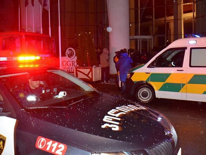 В Грузии 27 ноября объявили траур по жертвам пожара в гостинице в Батуми