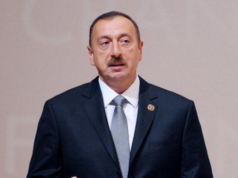 Президент Азербайджана поздравил президента Мавритании