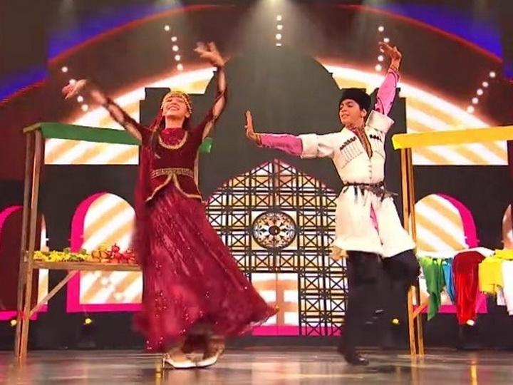 Азербайджанский народный танец «Джанги» в эфире НТВ – ВИДЕО