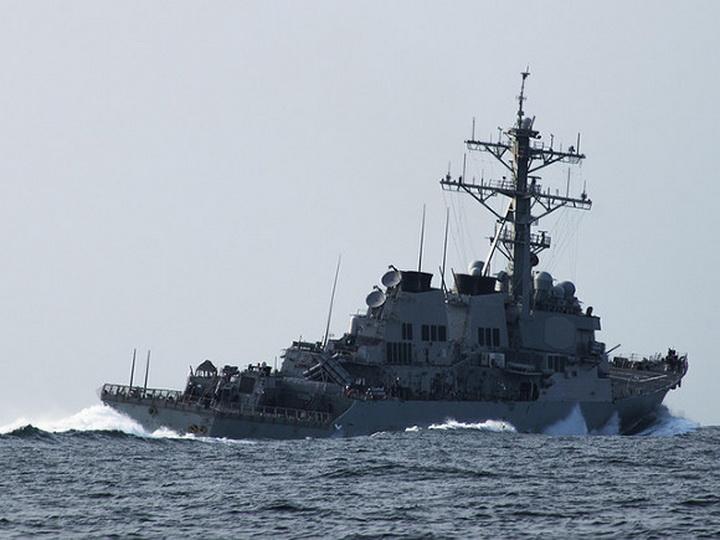 В Черное море вошел американский эсминец, оснащенный ракетами «Томагавк»