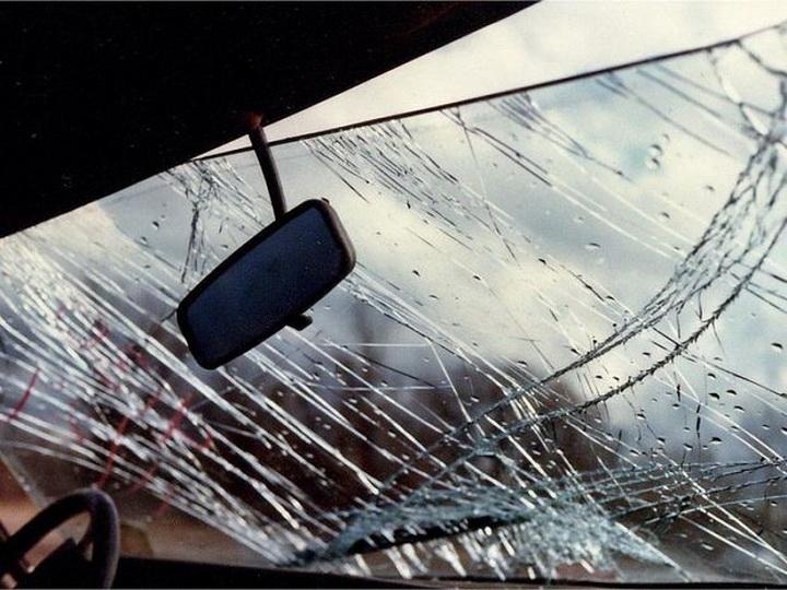 В Агстафе произошло ДТП, пострадали 2 человека