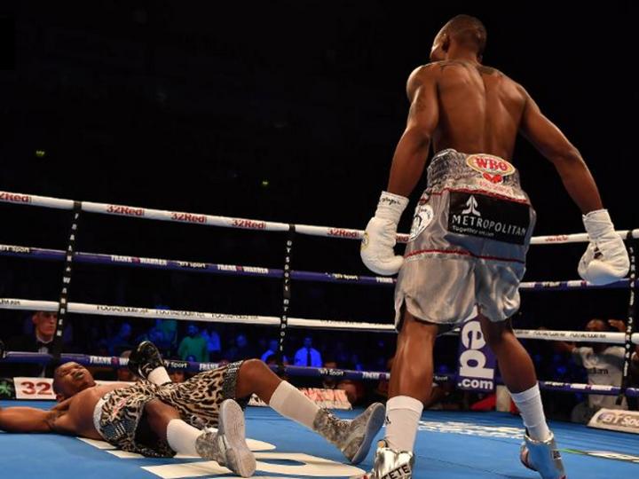 Боксер нокаутировал соперника первым ударом в чемпионском бою - ВИДЕО