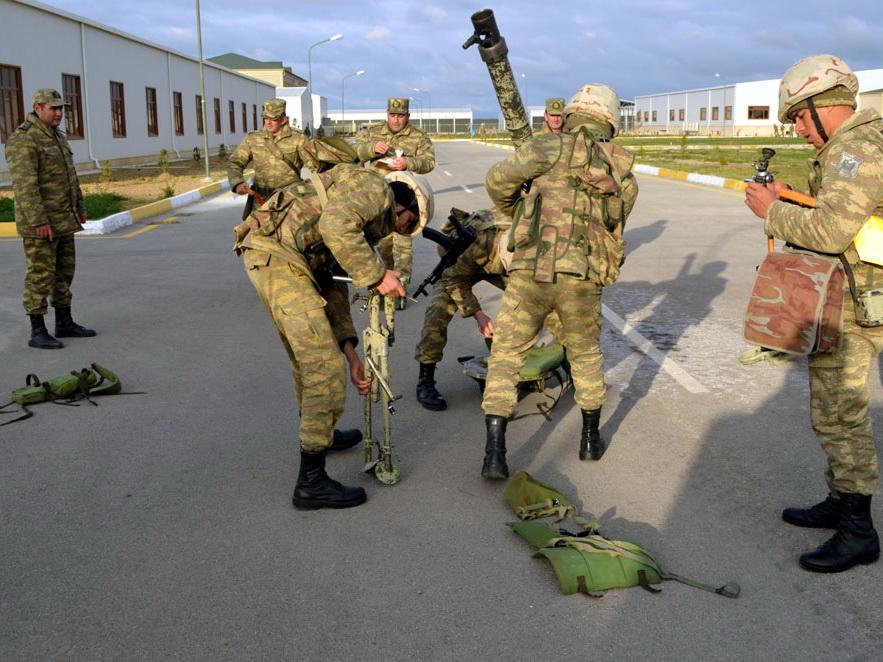 ВС Азербайджана точным огнем поразили условные цели – ФОТО