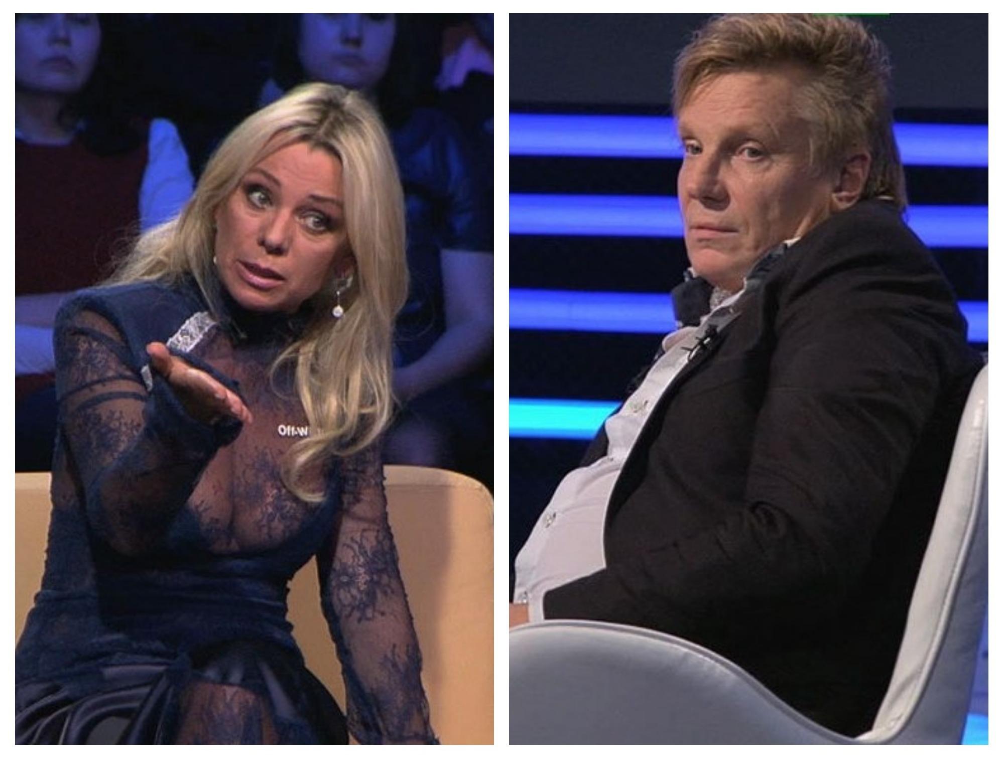 «Ты не мужик»: Ирина Салтыкова поскандалила с бывшим мужем в эфире НТВ – ФОТО — ВИДЕО