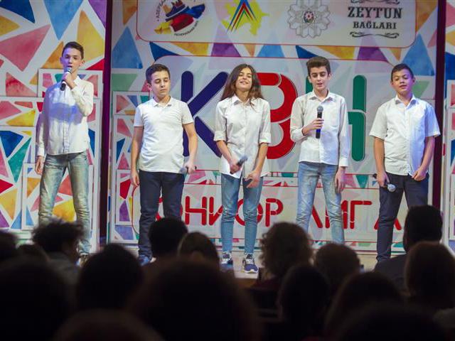 Море позитива: в Баку стартовал Третий сезон Юниор Лиги КВН – ФОТО