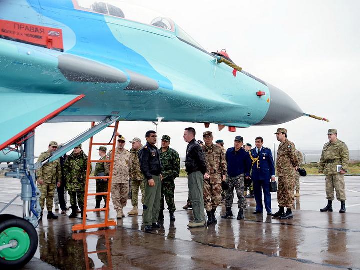 Состоялись штабные переговоры между ВВС Азербайджана и Турции
