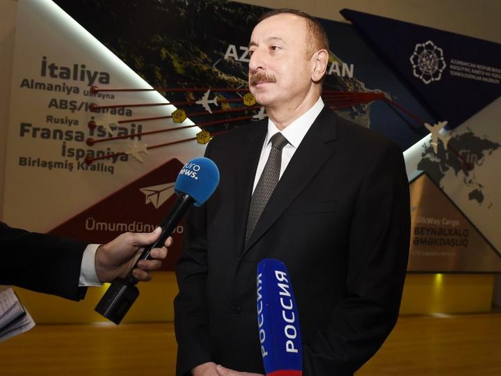 Ильхам Алиев: «Наша страна обладает большим потенциалом» — ФОТО