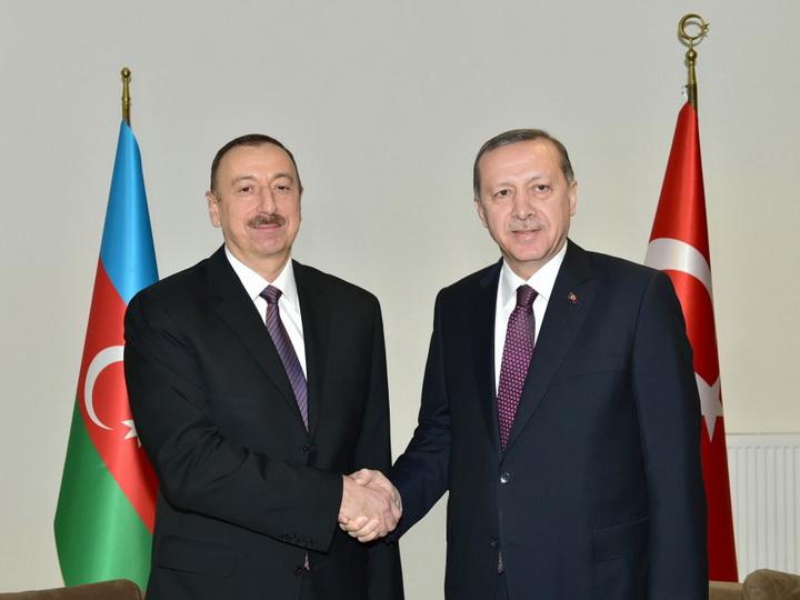 Президенты Азербайджана и Турции обсудили признание США Иерусалима столицей Израиля