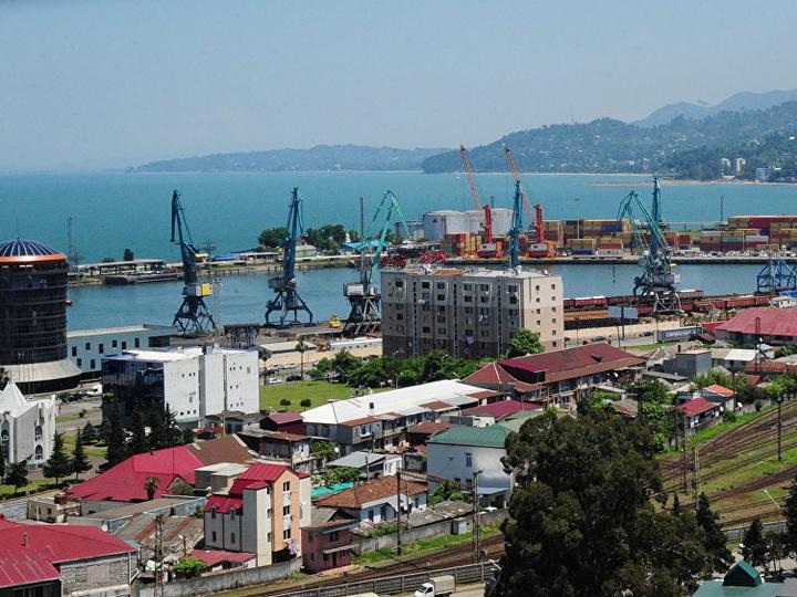 В Грузии началось строительство глубоководного порта