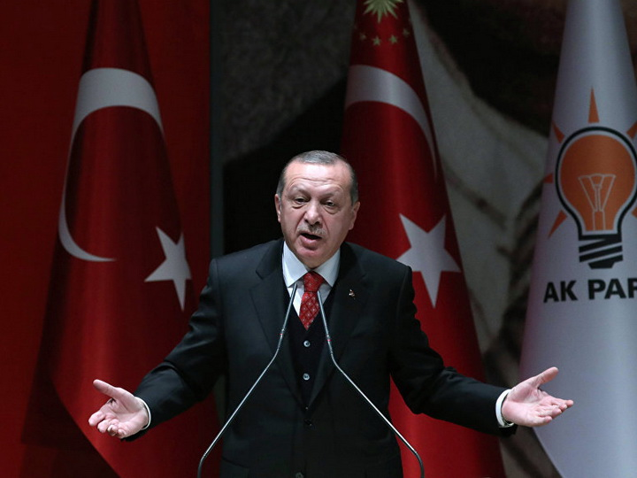 Эрдоган обвинил США в попытке наказать Турцию