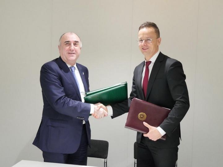 В Вене подписаны два документа между Азербайджаном и Венгрией — ФОТО