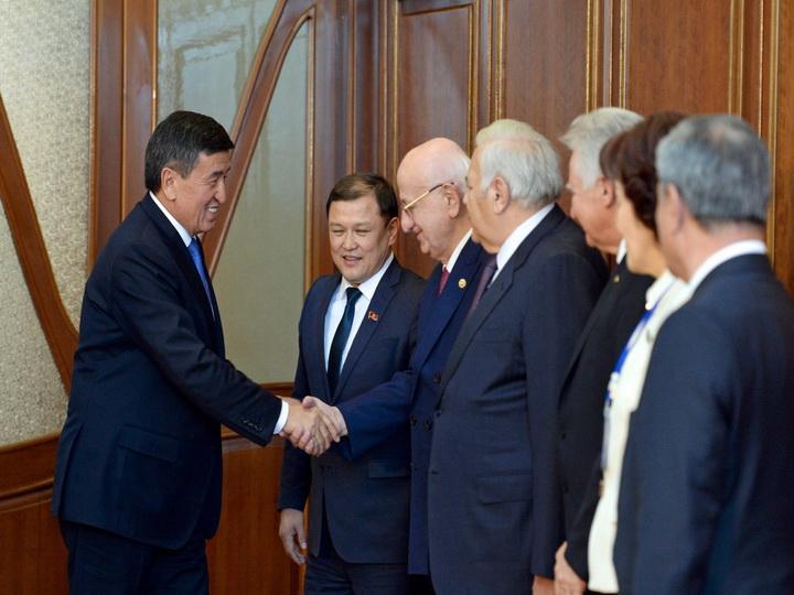 Президент Кыргызстана принял руководителей парламентских делегаций стран-членов ТюркПА — ФОТО