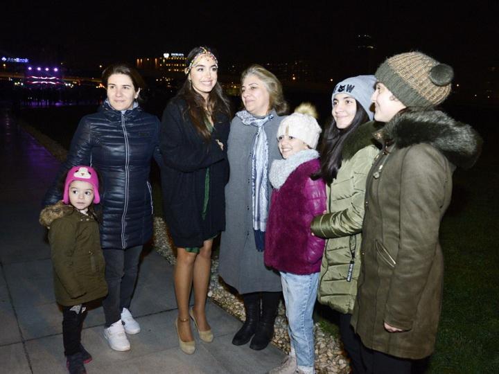Лейла Алиева приняла участие в открытии фотовыставки Red Bull Illume – ФОТО
