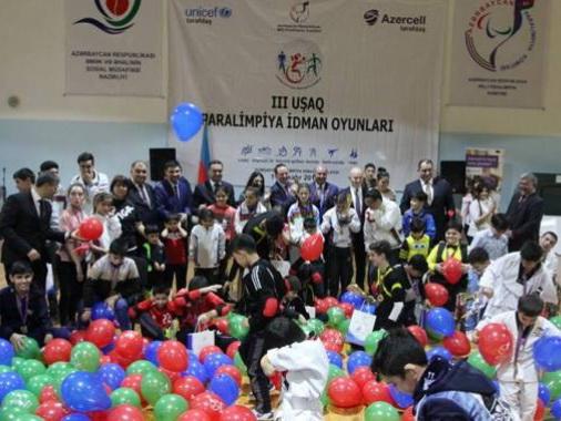 В Азербайджане прошли 3-и Детские Паралимпийские спортивные игры - ФОТО
