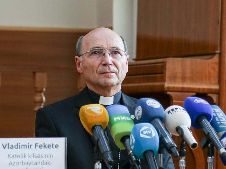 Апостольский префект Азербайджана возведен в епископское достоинство