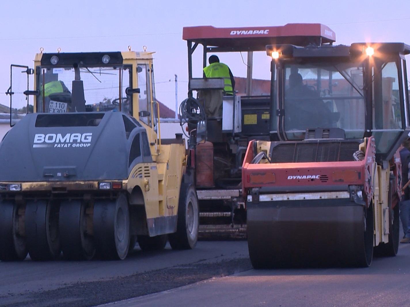 В Баку открывают новую дорогу – ФОТО – ВИДЕО