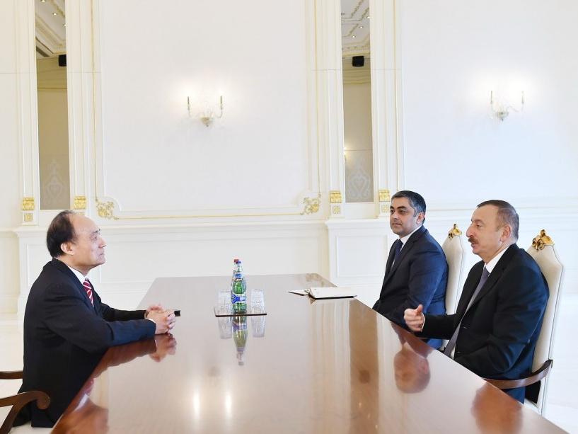 Ильхам Алиев принял генсека Международного телекоммуникационного союза