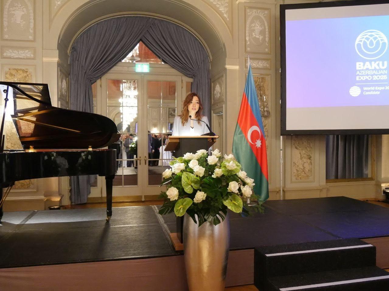 В Берне состоялась презентация Баку как кандидата на проведение Всемирной выставки «Ехро 2025»- ФОТО