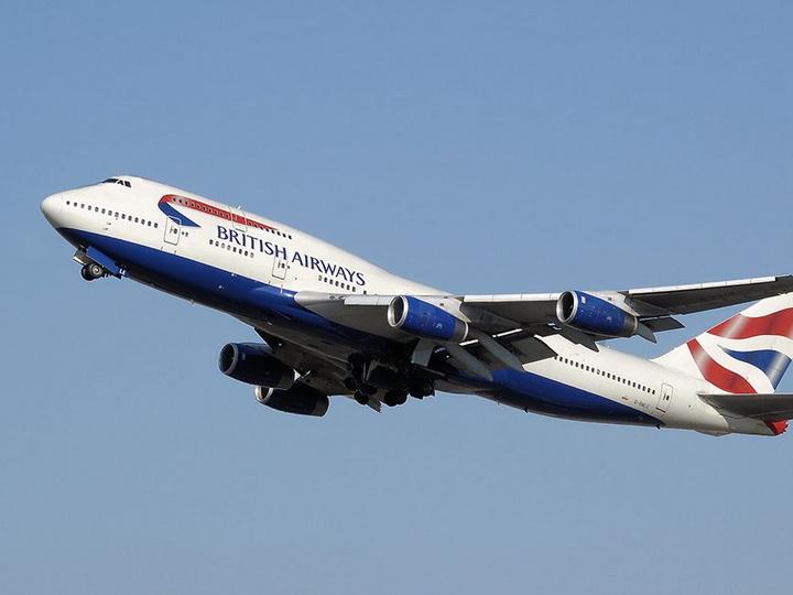 Самолет British Airways совершил экстренную посадку в Баку