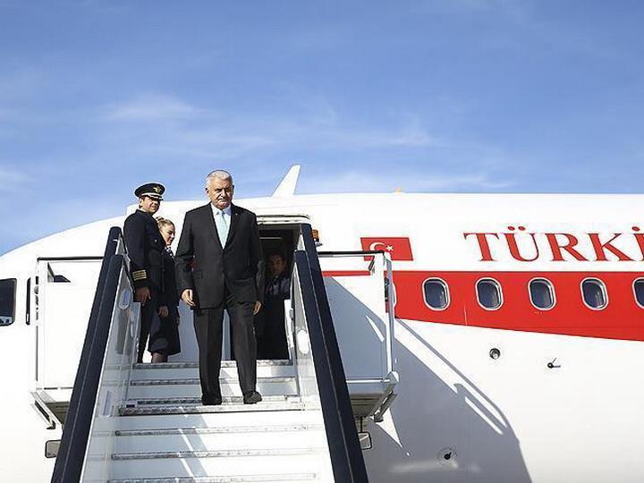 Премьер-министр Турции прибыл в Нахчыван