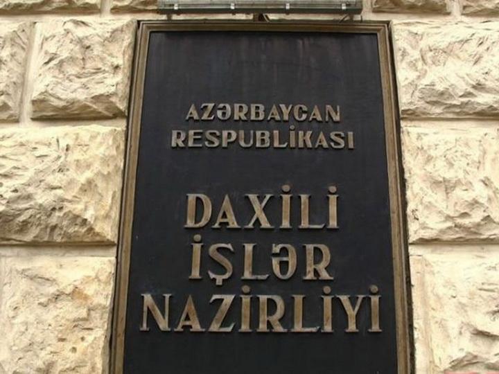 МВД: «Арестованы члены банды, совершившей налет на жилой дом в Баку»