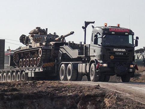 Эрдоган заявил о фактическом начале наземной операции в Африне