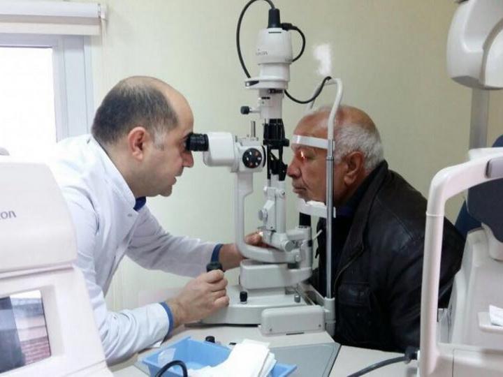 Мобильная клиника Национального центра офтальмологии провела гуманитарную акцию в Джоджуг Мерджанлы - ФОТО
