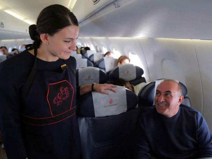 Buta Airways осуществила авиарейс Баку-София-Баку - ФОТО