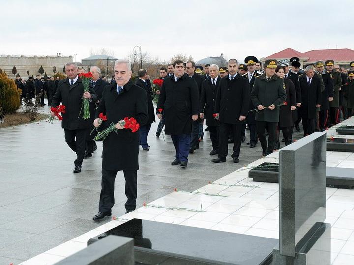 В Нахчыване отмечена 28-я годовщина трагедии 20 Января — ФОТО