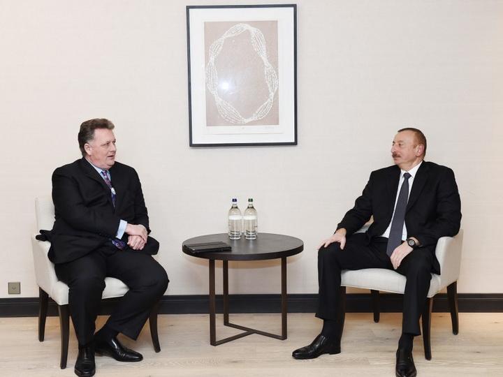 Президент Ильхам Алиев встретился с вице-президентом компании Chevron — ФОТО