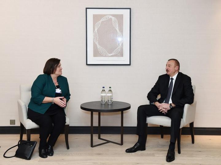 Состоялась встреча Президента Ильхама Алиева с исполнительным вице-президентом компании CISCO - ФОТО