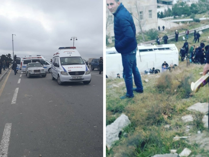 Установлены личности пострадавших при ДТП с автобусом в Баку – ФОТО – ВИДЕО – ОБНОВЛЕНО