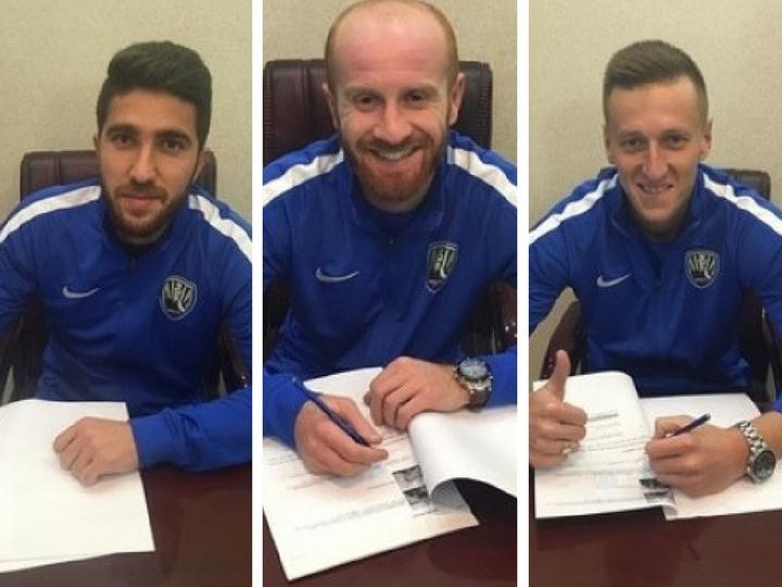 «Кяпяз» объявил о переходе еще двух футболистов