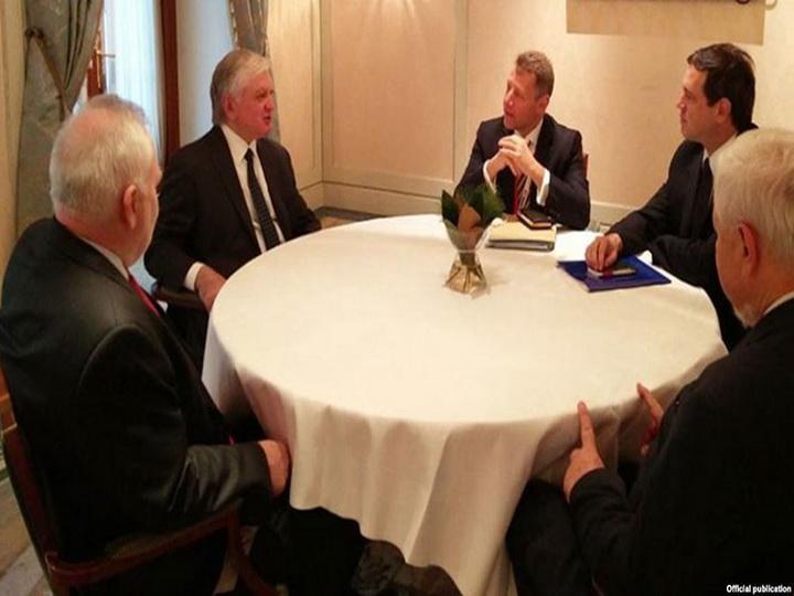 Эдвард Налбандян встретился в Кракове с сопредседателями Минской группы ОБСЕ