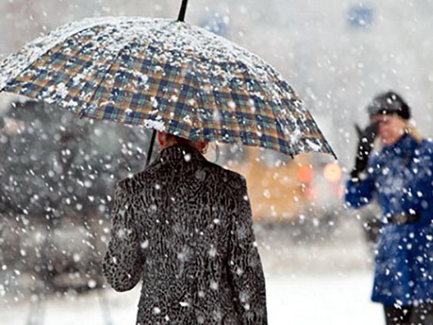 В субботу в Баку и на Абшероне возможен снег