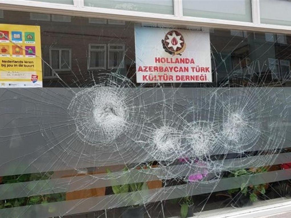 В Нидерландах совершено нападение на офис диаспорской организации Азербайджана