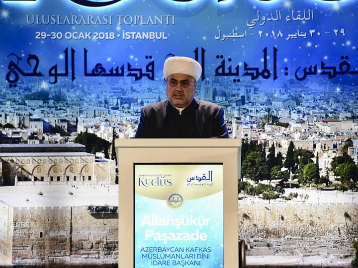В Стамбуле начала работу международная конференция, посвященная Иерусалиму — ФОТО