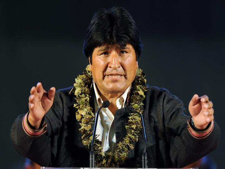 Президент Боливии назвал коку символом единства и свободы