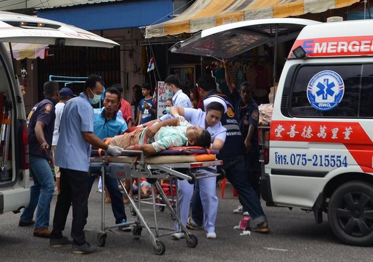 Два человека погибли, четверо ранены при взрыве на рынке в Таиланде