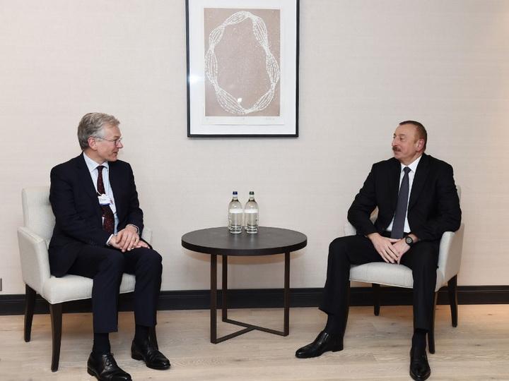 Президент Азербайджана встретился с генеральным исполнительным директором компании Royal Phillips — ФОТО