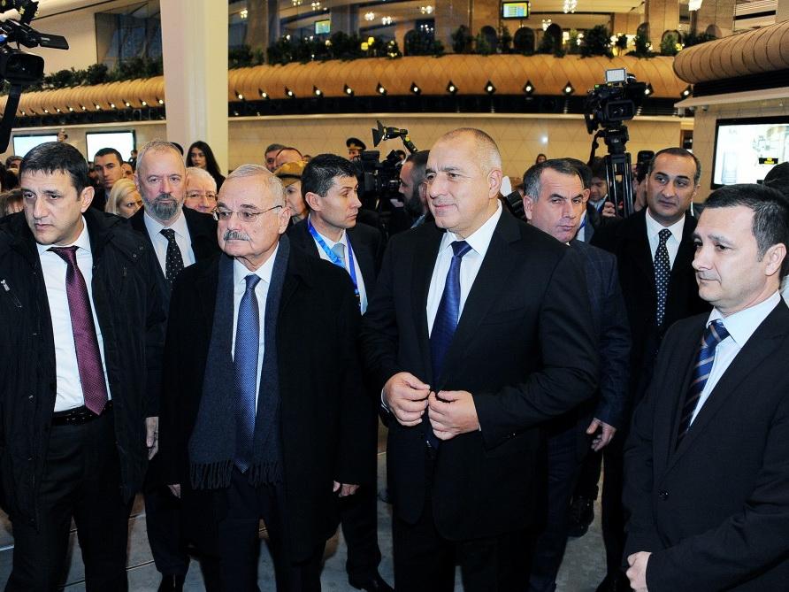Премьер-министры Азербайджана и Болгарии приняли участие в открытии первого прямого авиарейса Баку-София - ФОТО
