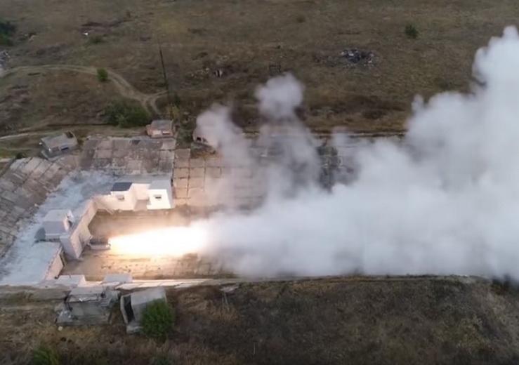 В Сети появились первые кадры с новым украинским ракетным комплексом - ВИДЕО