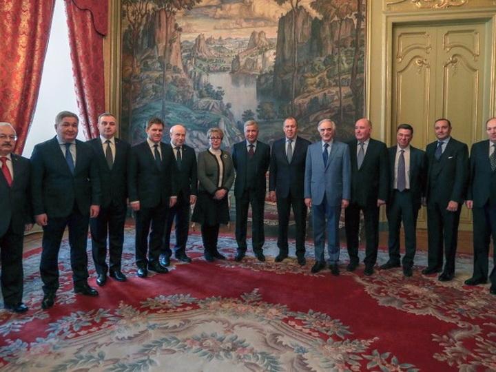 В Москве прошла встреча Лаврова с послами стран СНГ